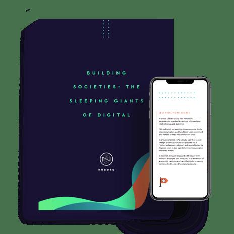 Building Societies - The Sleeping Giants of Digital mockup